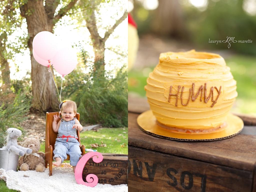 ChloeCakeSmashBlog 0005 1024x768 Chloes Cake Smash | Bakersfield Child Photographer