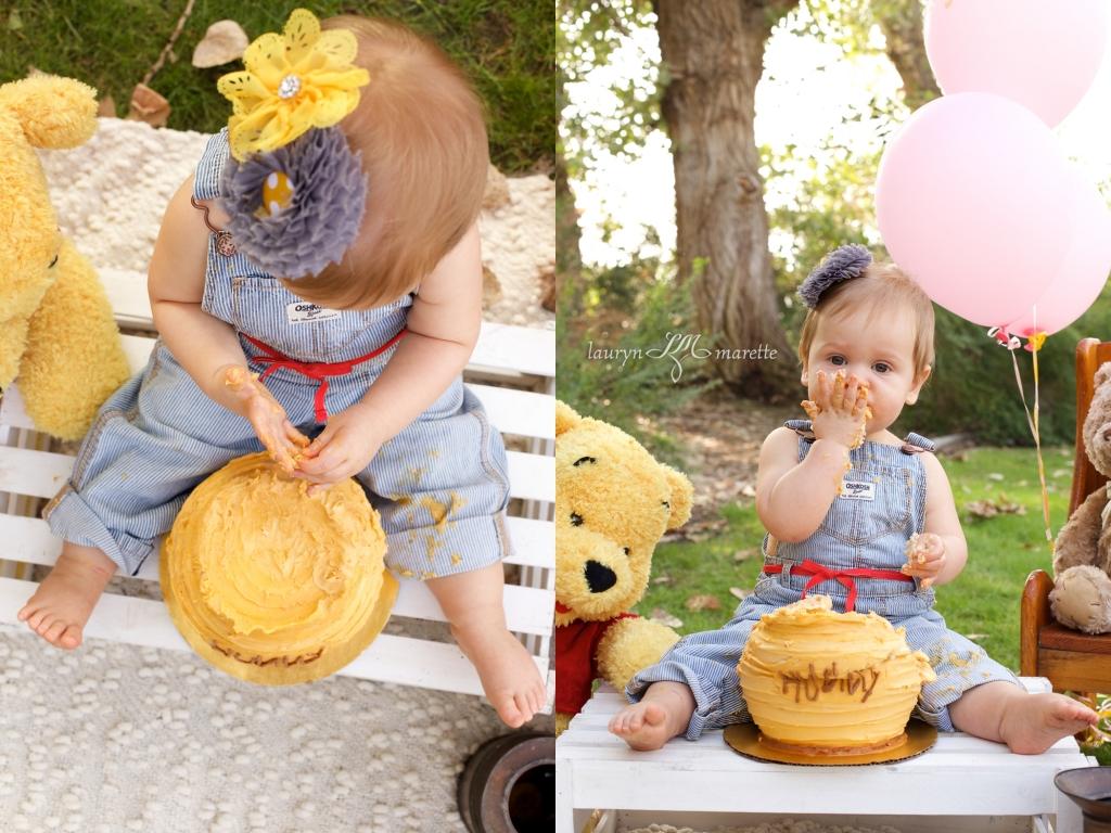 ChloeCakeSmashBlog 0006 1024x768 Chloes Cake Smash | Bakersfield Child Photographer