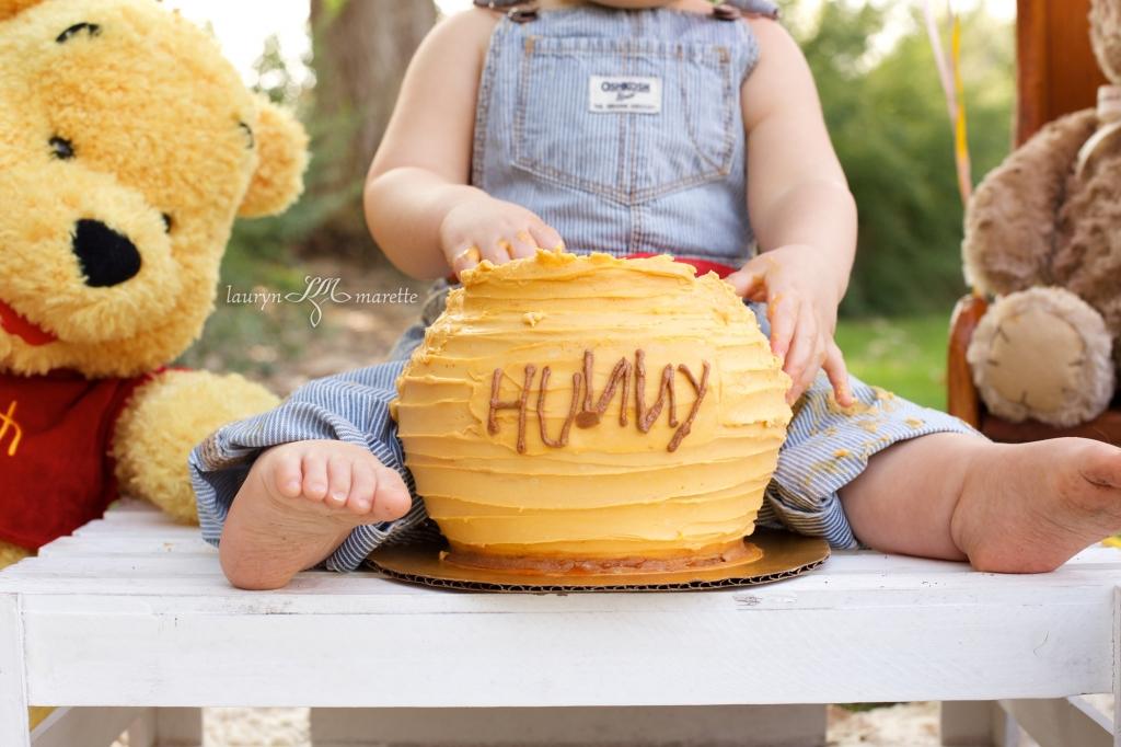 ChloeCakeSmashBlog 0008 1024x682 Chloes Cake Smash | Bakersfield Child Photographer