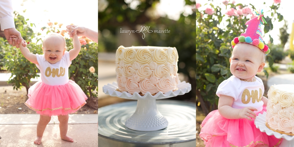 KatherineCakeSmashBlag 0001 1024x512 Katherines Cake Smash | Bakersfield Child Photographer